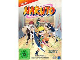 Naruto Die komplette Staffel 2 Uncut 5 DVDs