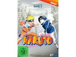 Naruto Die komplette Staffel 5 Uncut 5 DVDs