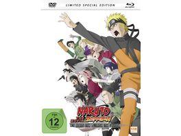 Naruto Shippuden Die Erben des Willens des Feuers The Movie 3 Mediabook DVD SE