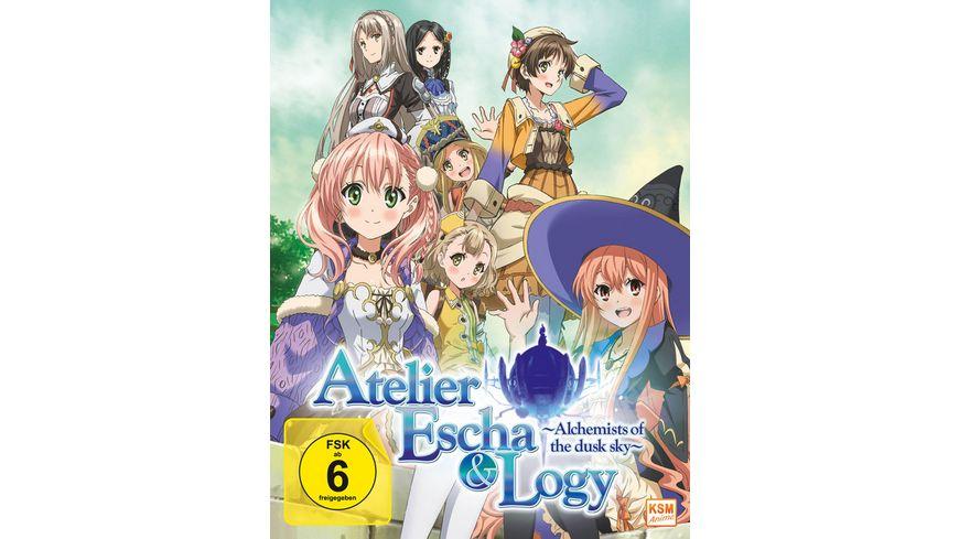 Atelier Escha Logy Alchemist of the Dusk Sky Volume 1 Episode 01 04 im Sammelschuber Limited Edition