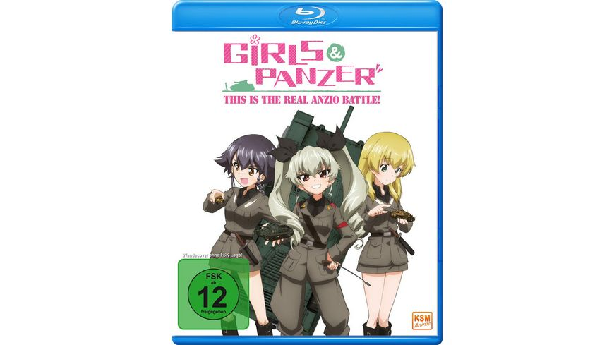 Girls Panzer This is the Real Anzio Battle OVA