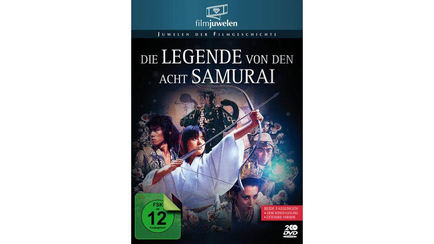 Die Legende von den acht Samurai DDR Kinofassung Extended Version 2DVDs