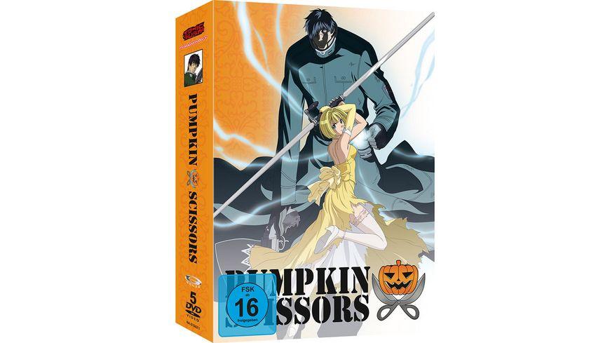 Pumpkin Scissors Gesamtausgabe 5 DVDs