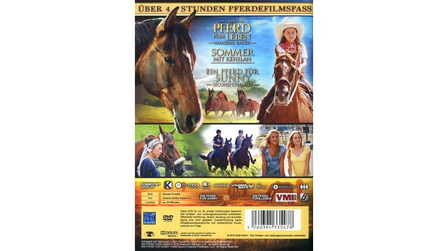 Pferdeglueck 3 Pferdefilme in einer Edition