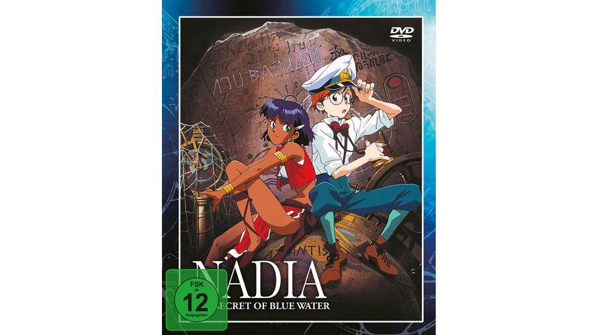 Nadia und die Macht des Zaubersteins Box 1 4 DVDs