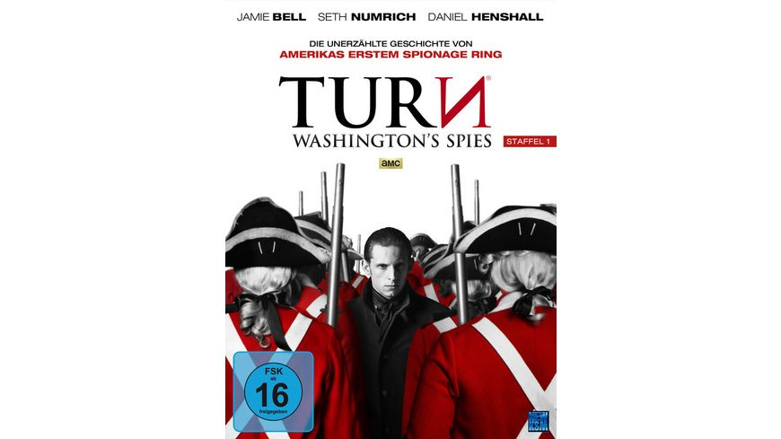 Turn Washington s Spies Staffel 1 4 DVDs