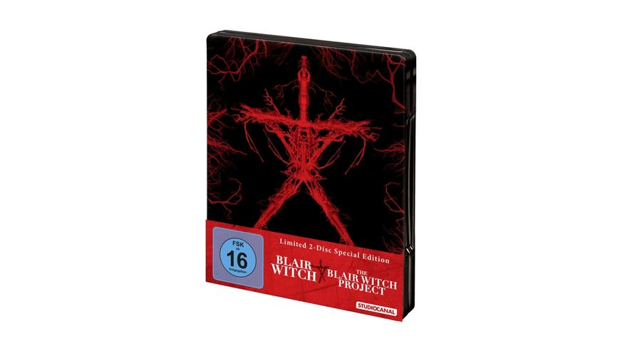 Blair Witch Blair Witch Project Steel Edition 2 BRs