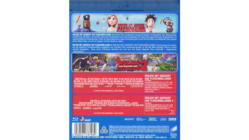 Wolkig mit Aussicht auf Fleischbaellchen Wolkig mit Aussicht auf Fleischbaellchen2 Best of Hollywood 2 Movie Collector s Pack 2 BRs
