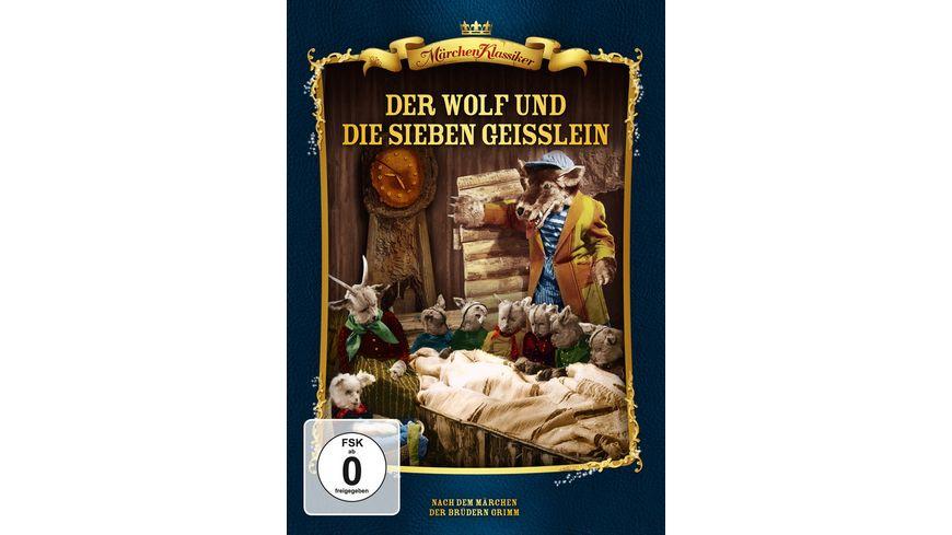 Der Wolf und die sieben Geisslein Maerchen Klassiker