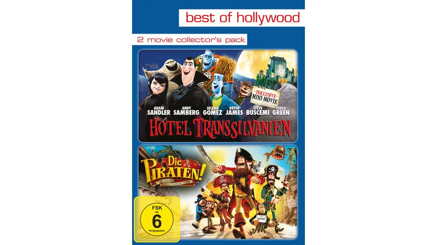 Hotel Transsilvanien Die Piraten Ein Haufen merkwuerdiger Typen Best of Hollywood 2 Movie Collector s Pack 2 DVDs