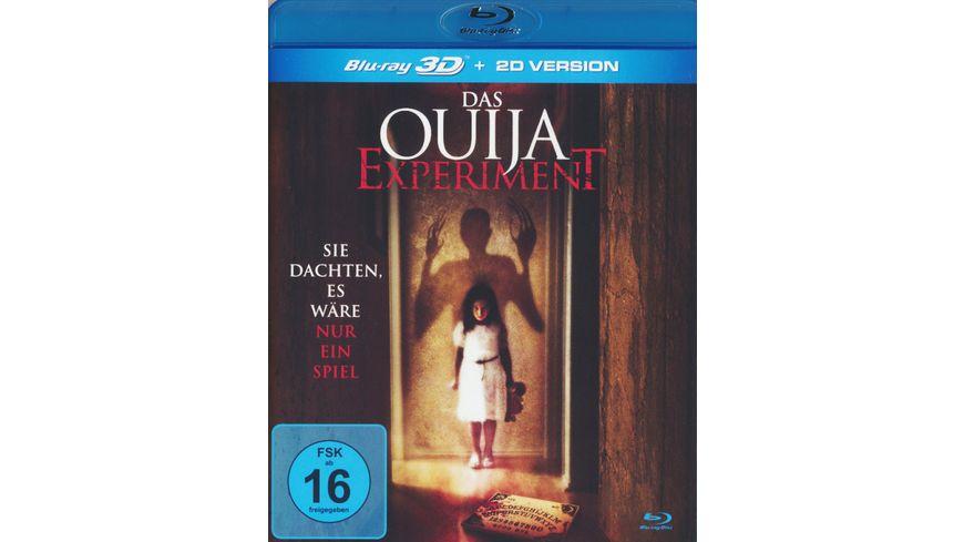 Das Ouija Experiment inkl 2D Version