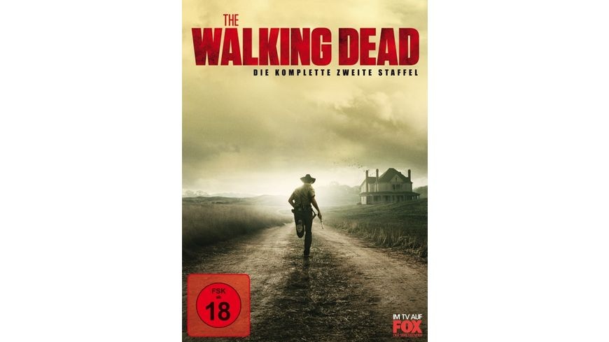 The Walking Dead Die komplette zweite Staffel 4 DVDs