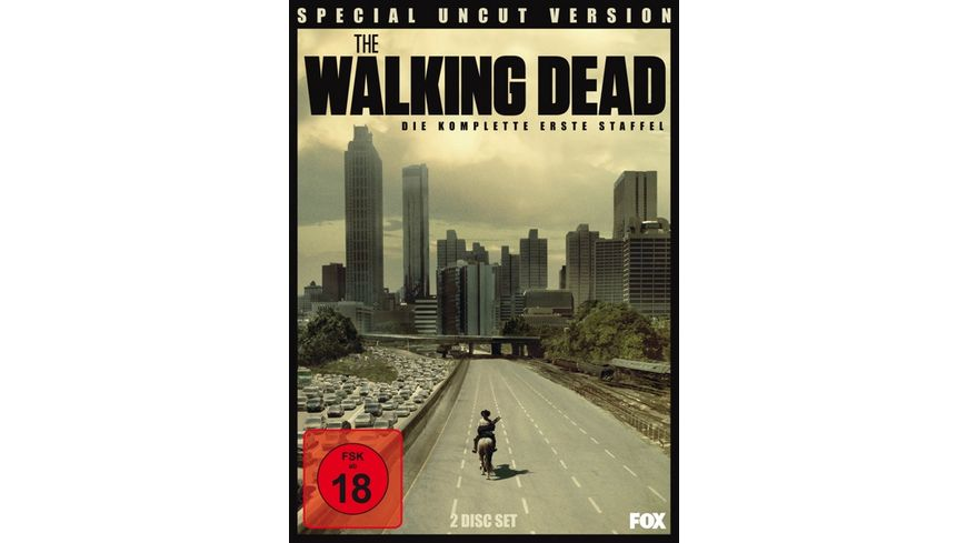 The Walking Dead Die komplette erste Staffel Uncut SE 2 DVDs