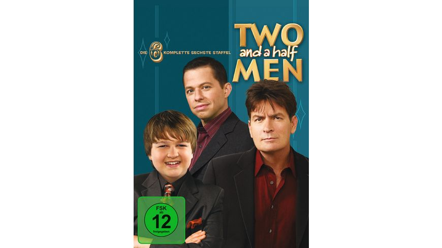 Two and a Half Men Mein cooler Onkel Charlie Staffel 6 4 DVDs