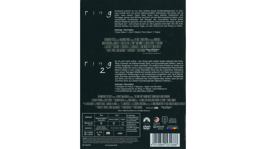 Ring 1 2 Box Set 2 DVDs