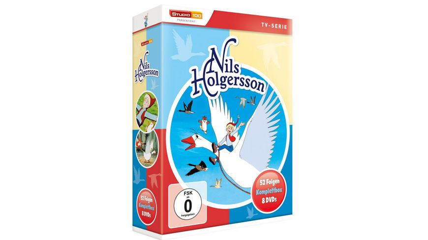 Nils Holgersson Komplettbox 9 DVDs