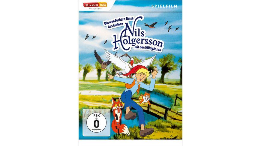 Nils Holgersson Die wunderbare Reise des kleinen Nils Holgersson mit den Wildgaensen