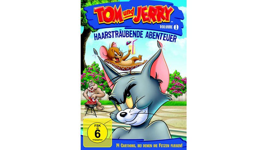 Tom Jerry Haarstraeubende Abenteuer Vol 1