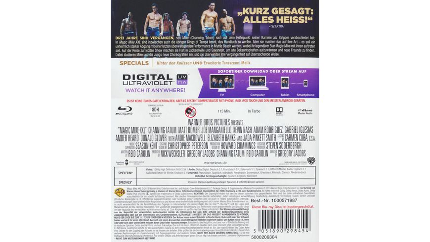 Magic Mike XXL inkl Digital Ultraviolet