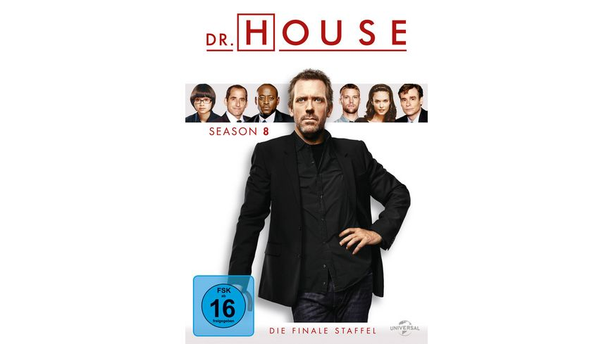 Dr House Season 8 6 DVDs