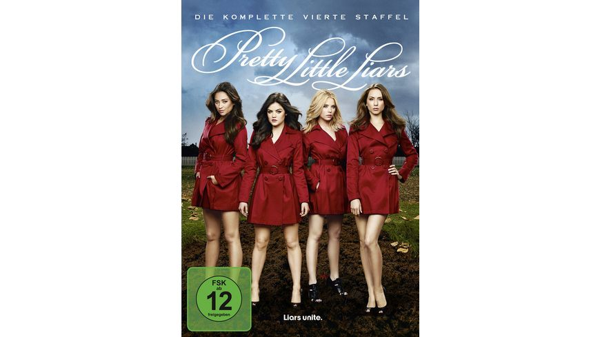 Pretty Little Liars Die komplette 4 Staffel 5 DVDs