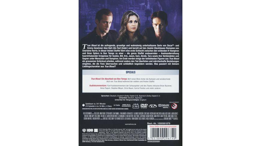 True Blood Staffel 7 4 DVDs