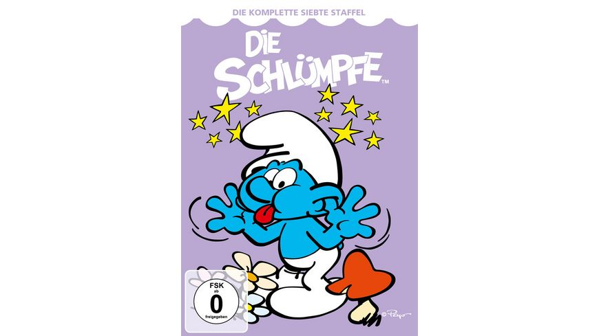 Die Schluempfe Die komplette 7 Season 6 DVDs