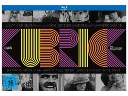 Stanley Kubrick The Masterpiece Collection 10 DVDs