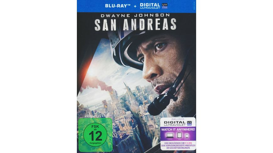 San Andreas inkl Digital Ultraviolet