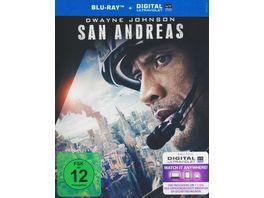 San Andreas inkl Digital Ultraviolet