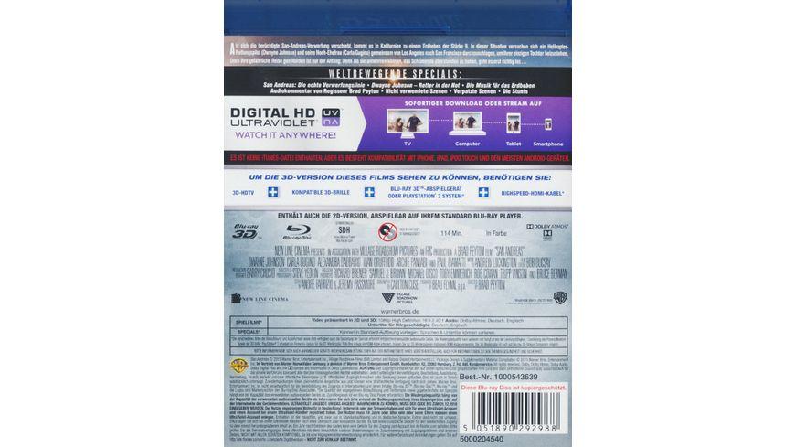 San Andreas Blu ray