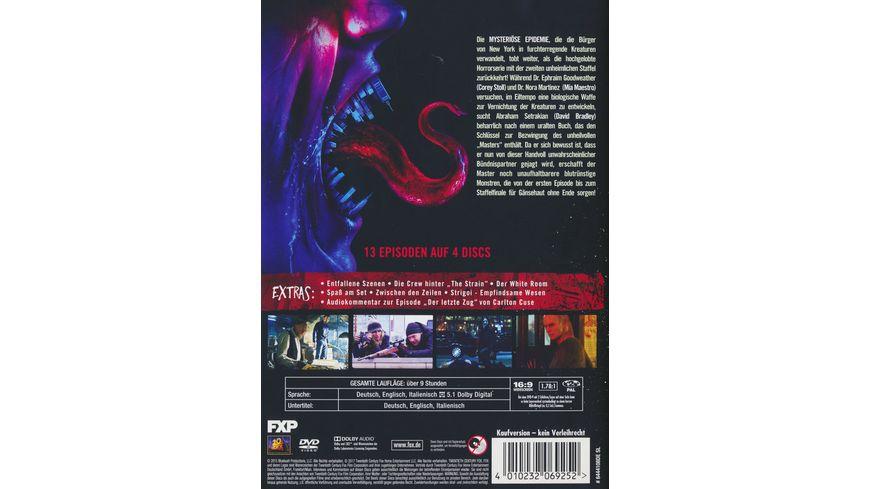 The Strain Season 2 4 DVDs