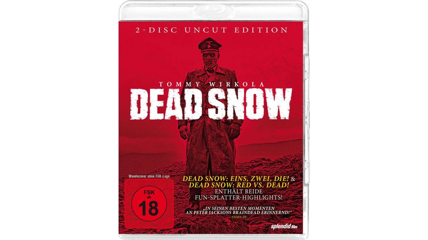 Dead Snow Double Feature 2 BRs