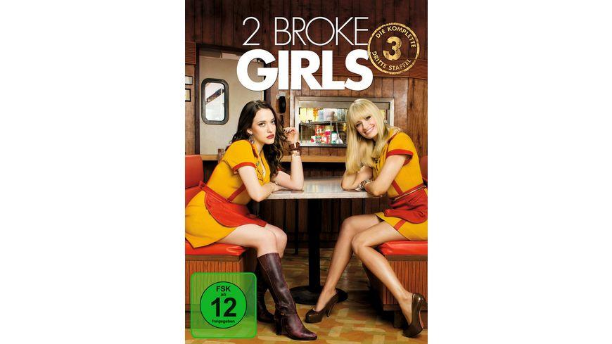 2 Broke Girls Staffel 3 3 DVDs