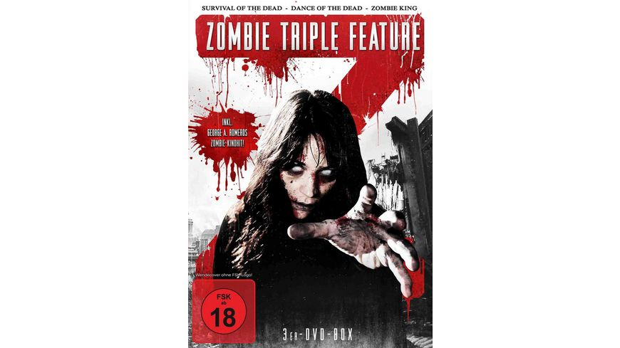 Zombie Triple Feature 3 DVDs