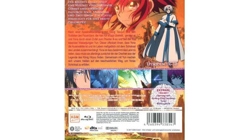 Akatsuki No Yona Prinzessin der Morgendaemmerung Volume 2 Episode 06 10