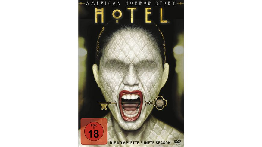 American Horror Story Season 5 4 DVDs