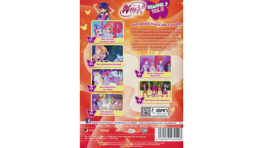 Winx Club Staffel 7 Vol 5