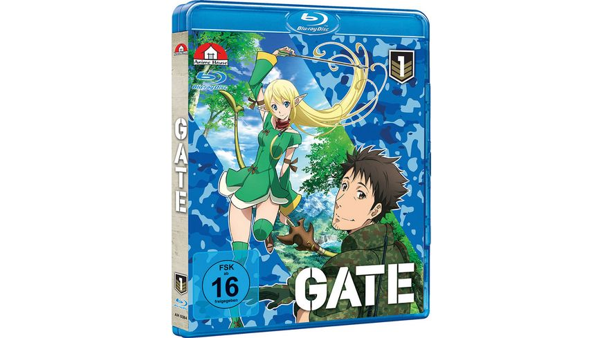 Gate Vol 1 Episoden 1 3