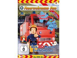 Feuerwehrmann Sam Wasser Marsch Unser Held von nebenan 2 DVDs