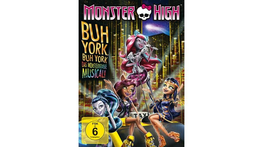 Monster High Buh York Buh York
