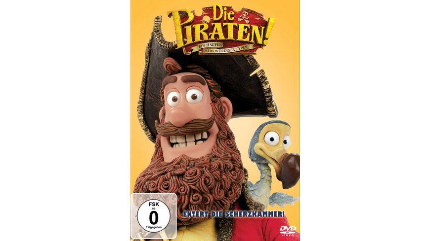 Die Piraten Ein Haufen merkwuerdiger Typen