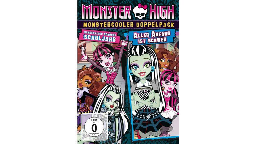 Monster High Monstercooler Doppelpack Schrecklich schoenes Schuljahr Aller Anfang ist schwer