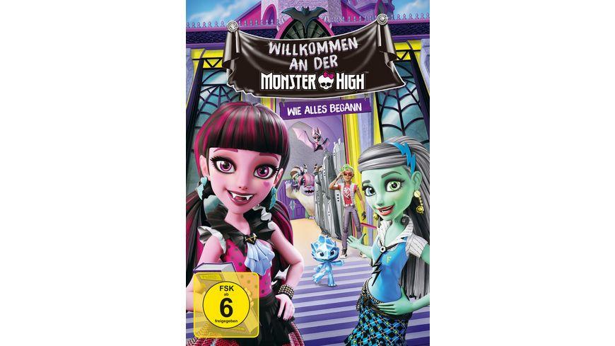 Monster High Willkommen an der Monster High Wie alles Begann