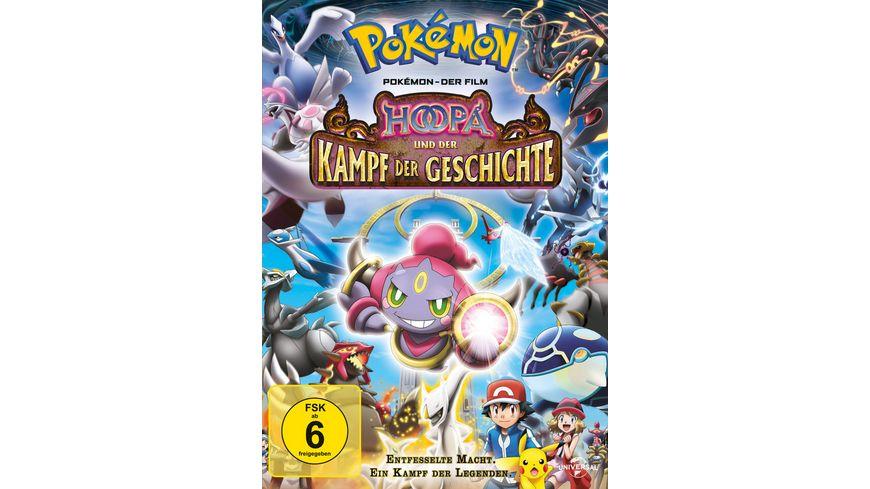 Pokemon Der Film Hoopa und der Kampf der Geschichte