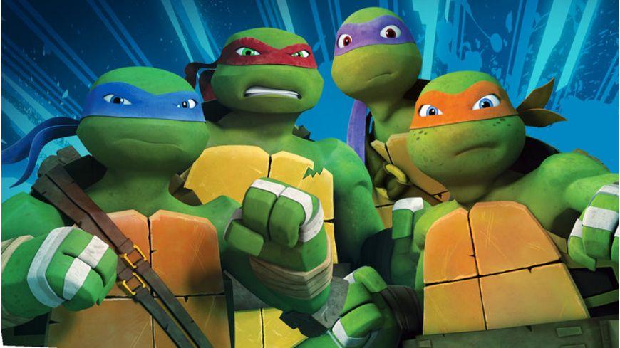 Teenage Mutant Ninja Turtles Season 2 4 DVDs
