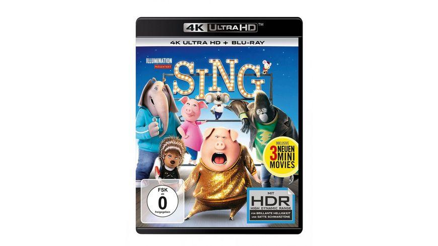 Sing 4K Ultra HD Blu ray