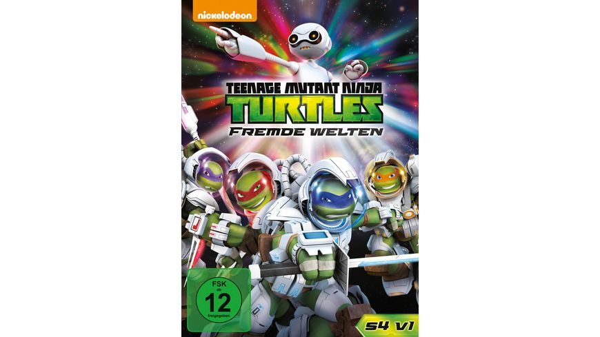 Teenage Mutant Ninja Turtles Fremde Welten Season 4 Vol 1