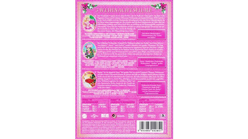Barbie Weihnachtsfilme 3 DVDs