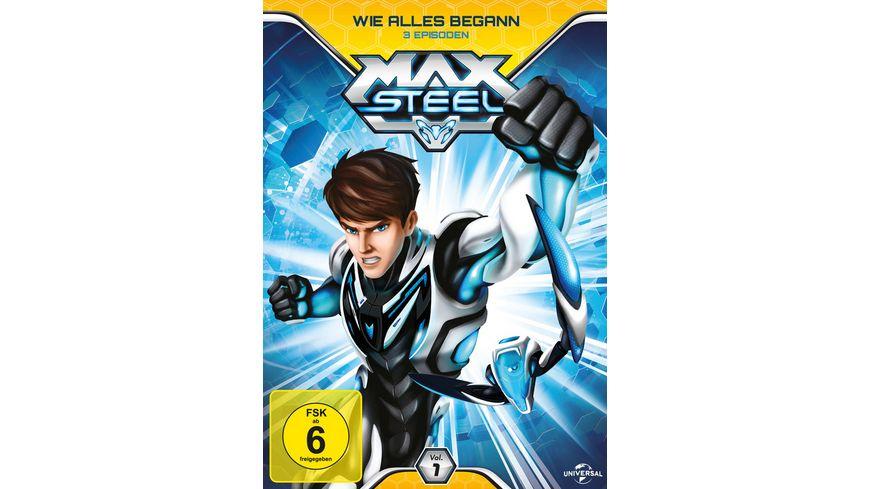 Max Steel Vol 1 Wie alles begann